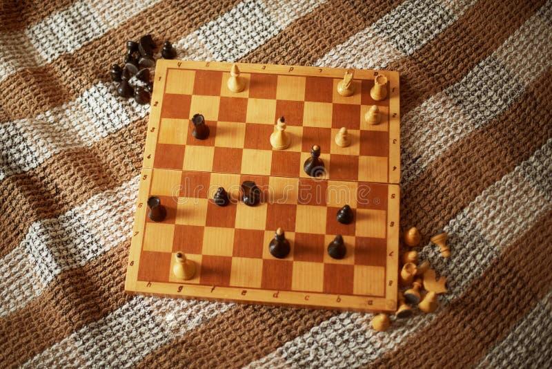 Шахмат Концепция выигрыша стоковая фотография rf