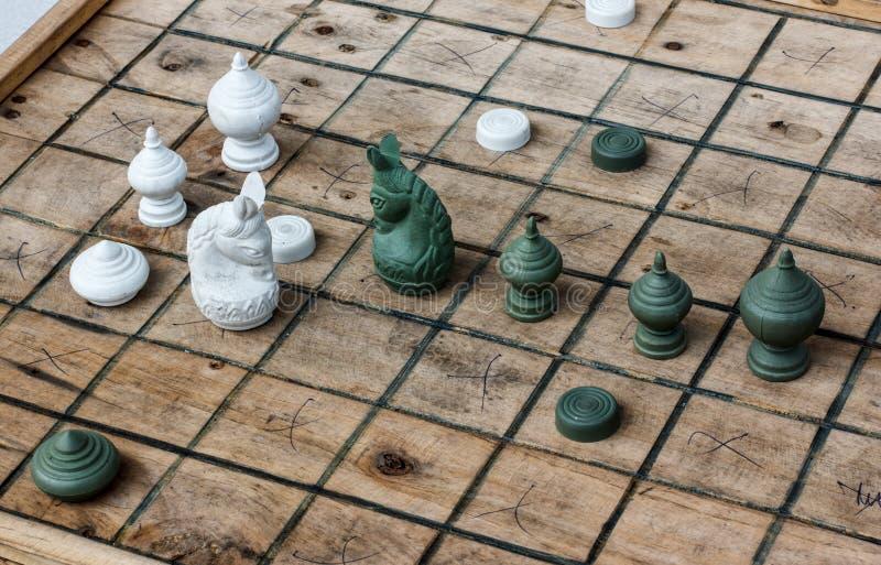 Download Шахмат Таиланд стоковое изображение. изображение насчитывающей весточка - 37926057