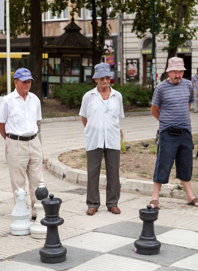 Шахмат улицы стоковое изображение