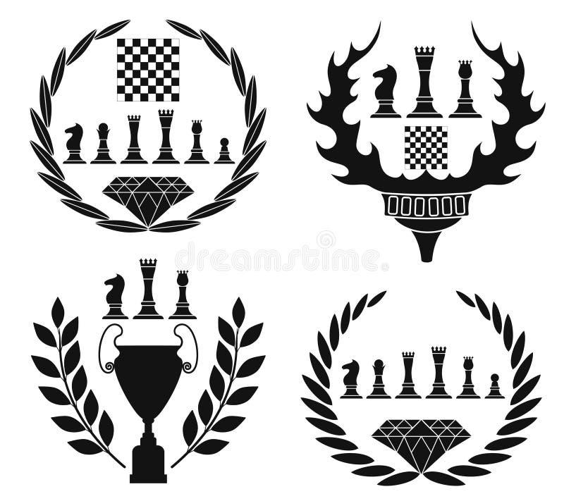 Шахмат иллюстрация штока