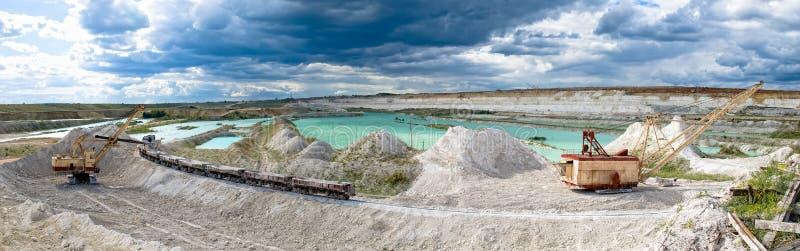 шахта бросания открытая стоковые изображения rf