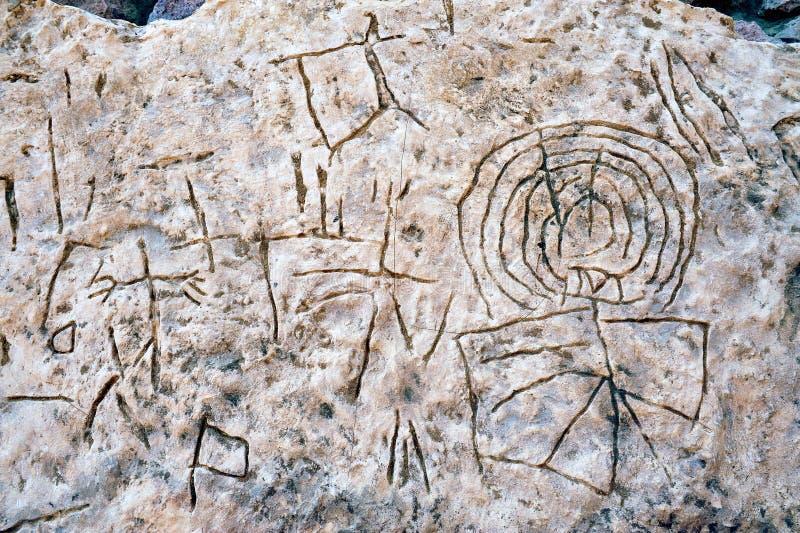 Шахты Timna парка и короля Solomon's стоковая фотография rf
