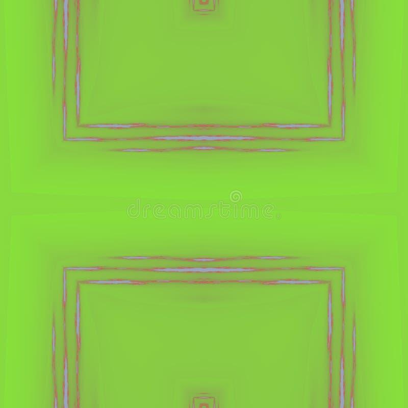 Шаловливая иллюстрация красочных форм Легкая графическая фантазия иллюстрация штока