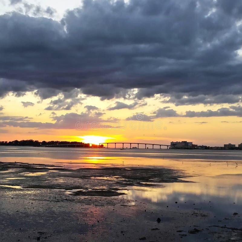 шальное небо стоковая фотография rf