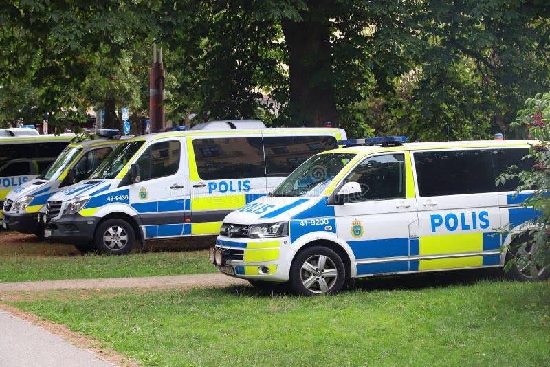 Шведская полиция стоковая фотография rf
