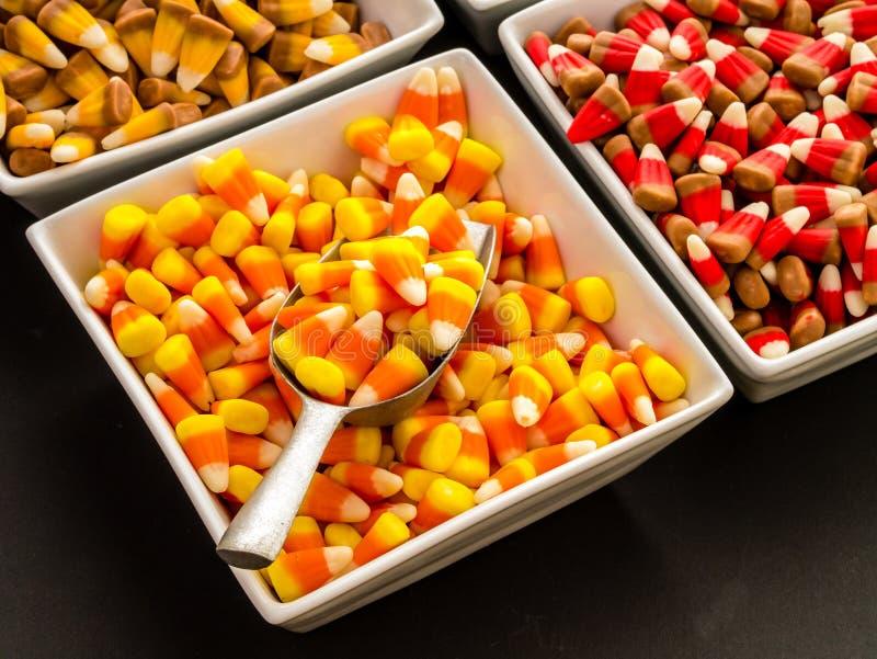Шведский стол конфеты Halloween стоковая фотография rf
