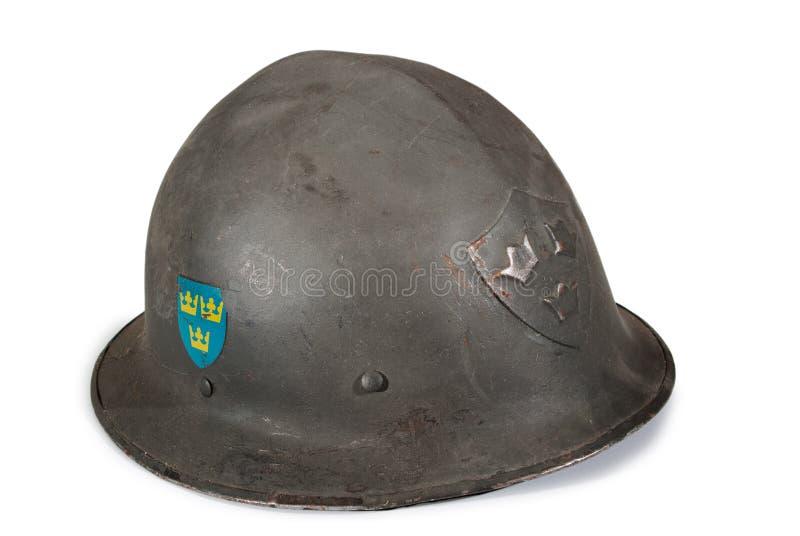 Шведский шлем ww2 стоковые изображения