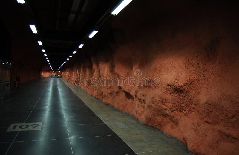 шведский язык метро стоковая фотография rf