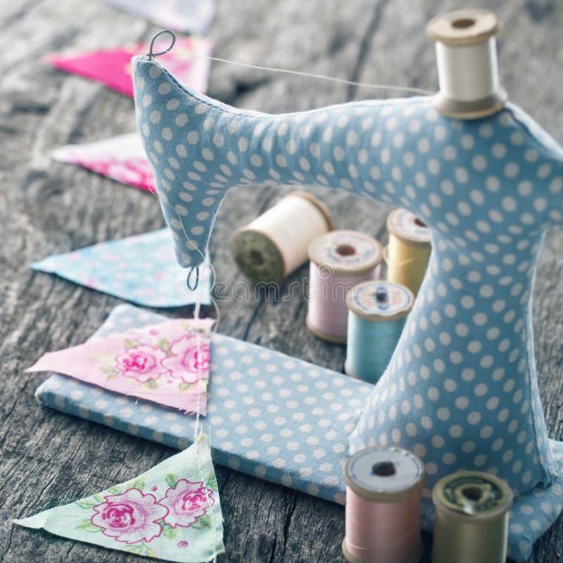 Швейная машина игрушки стоковое изображение