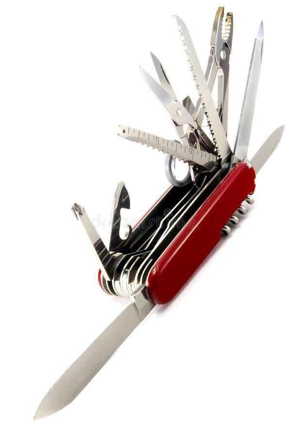 швейцарец ножа армии стоковое изображение