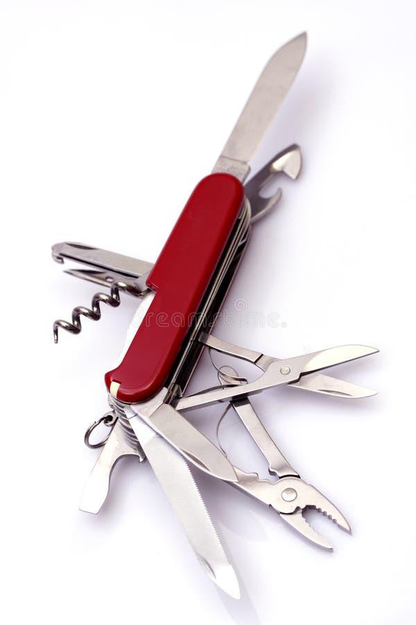 швейцарец ножа армии стоковые изображения rf