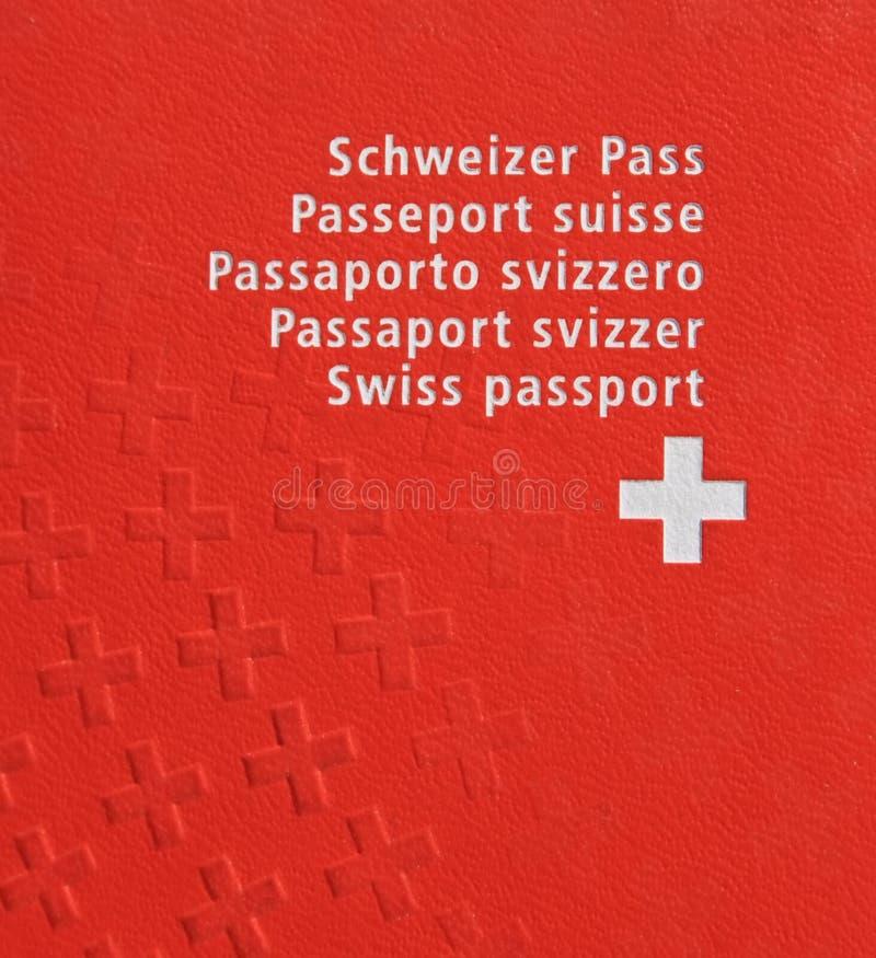 швейцарец пасспорта стоковое фото rf