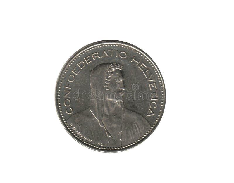 швейцарец 5 франков стоковое фото rf