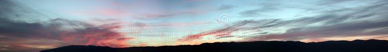 Швейцарские горы около Женевы стоковое фото rf