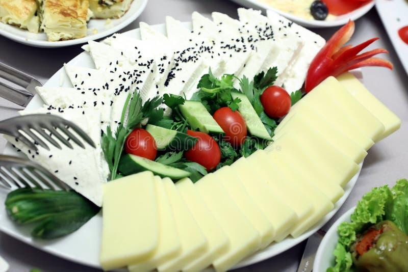 Шведский стол салата стоковое фото rf