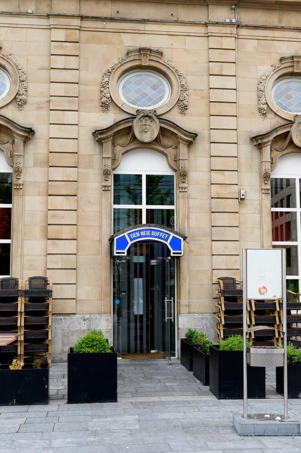 Шведский стол Neie вертепа - шведский стол вокзала стоковое изображение