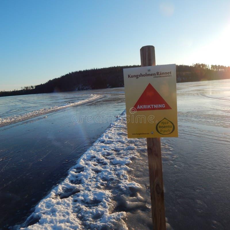 Шведское зимнее время стоковое изображение rf
