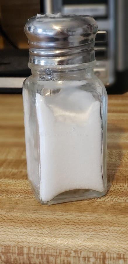 Шейкер соли стоковое изображение rf