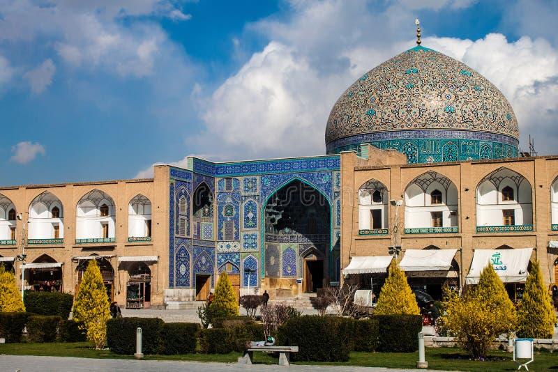 Шейх Lotfollah Мечеть стоковая фотография rf