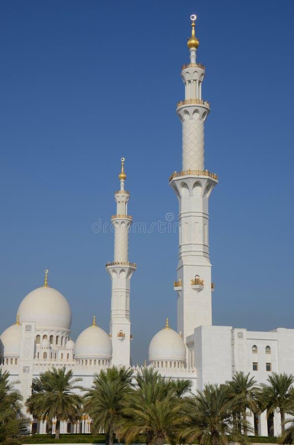 Шейх Zayed Мечеть Abu Dhabi стоковое фото rf
