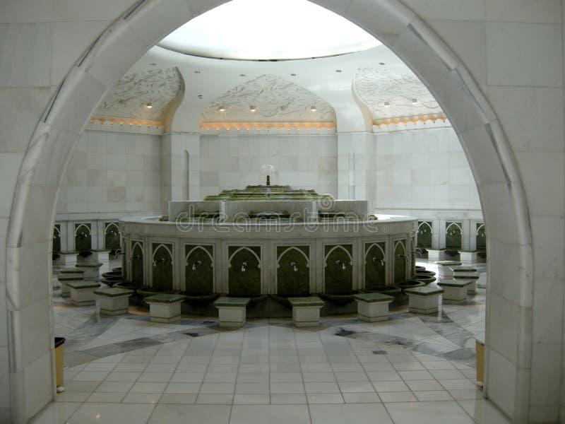 Шейх Zayed Мечеть Abu Dhabi стоковые изображения
