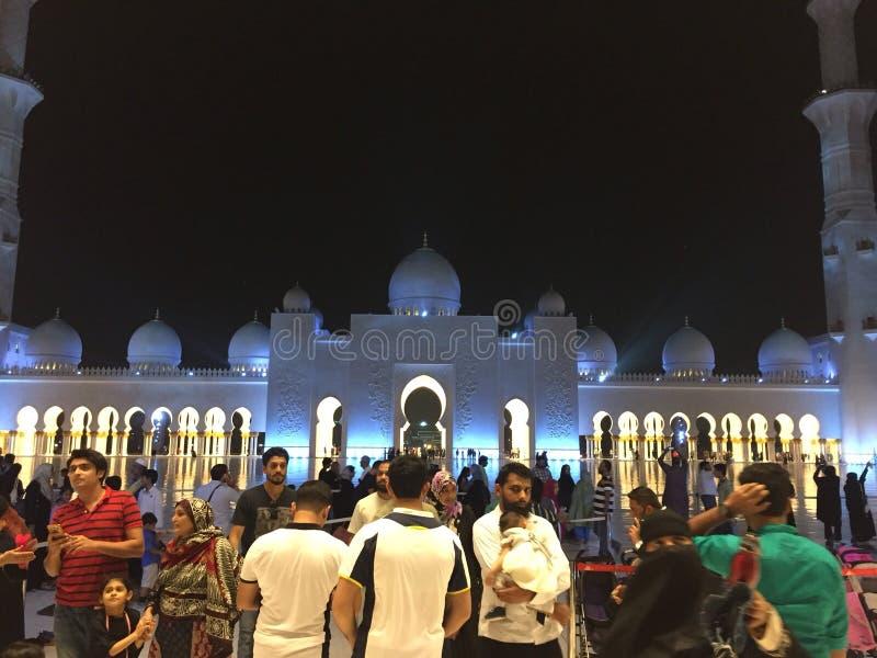 Шейх Zayed Masjid стоковая фотография rf