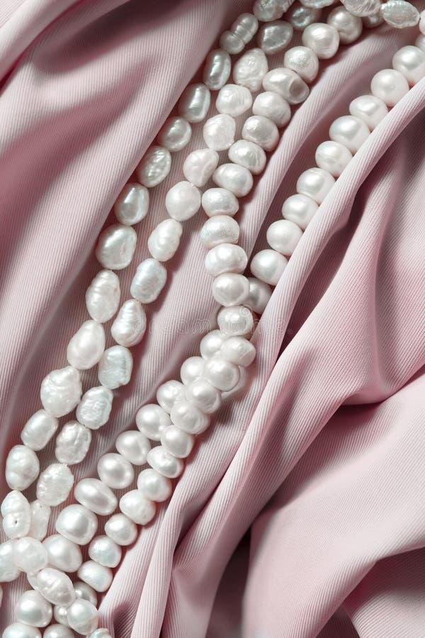 шелк перлы стоковое изображение