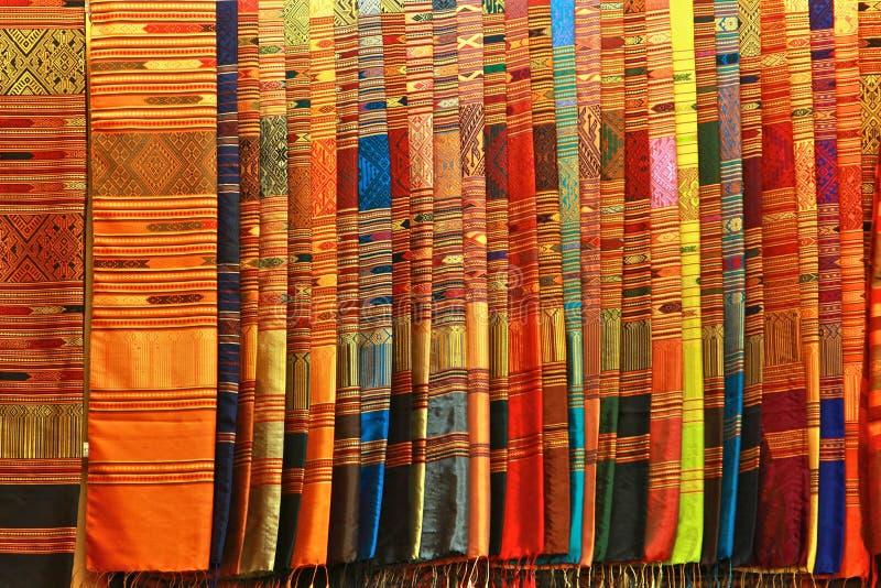 шелк тайский стоковое фото rf