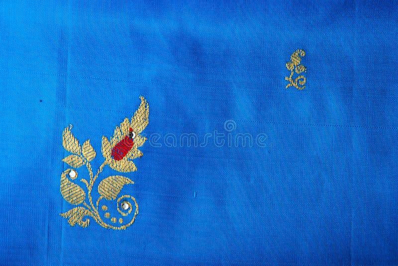 шелк saree стоковые фото