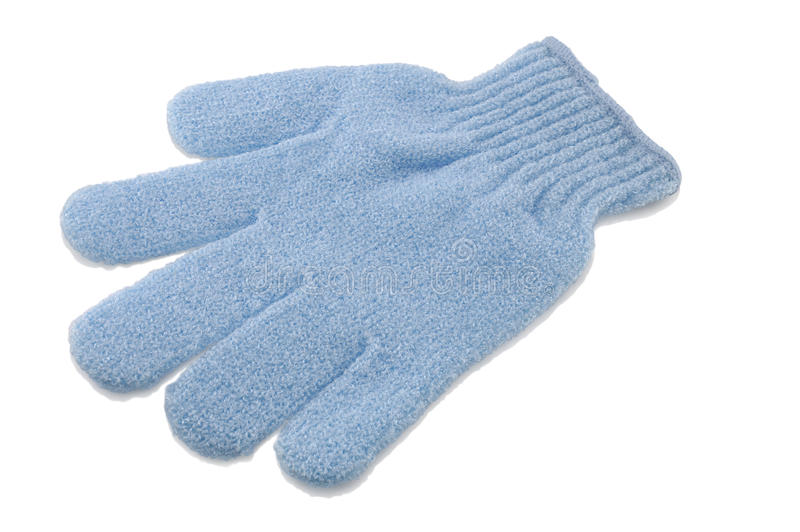 шелушение перчатки стоковое изображение