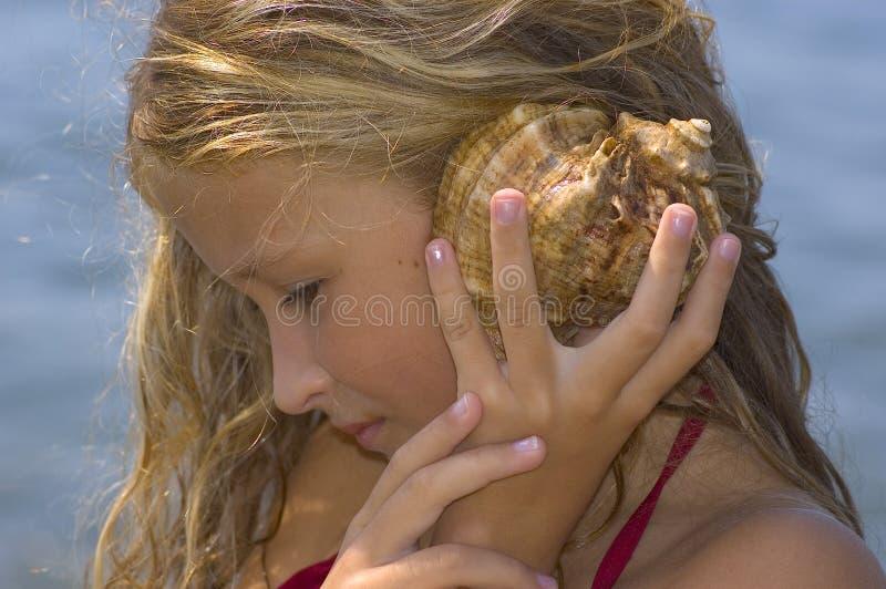 шепот моря стоковое изображение