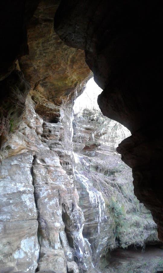 Шепча пещера стоковое изображение rf