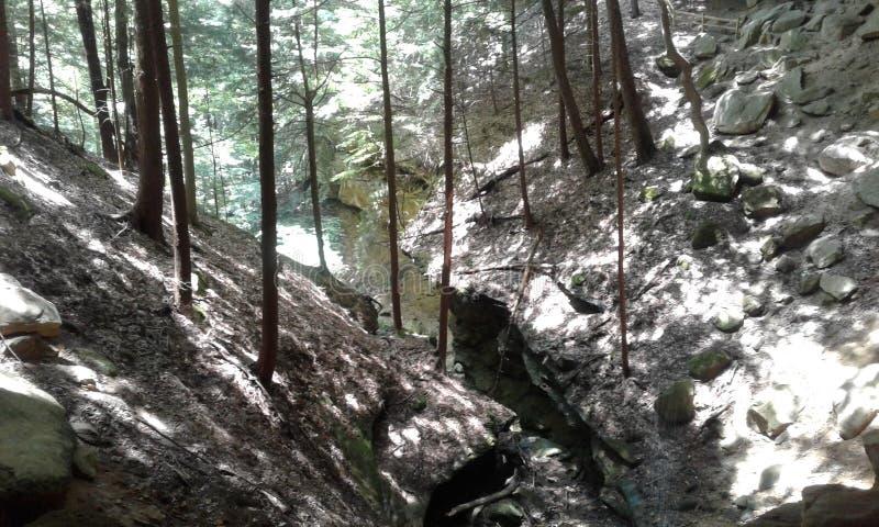 Шепча пещера стоковая фотография