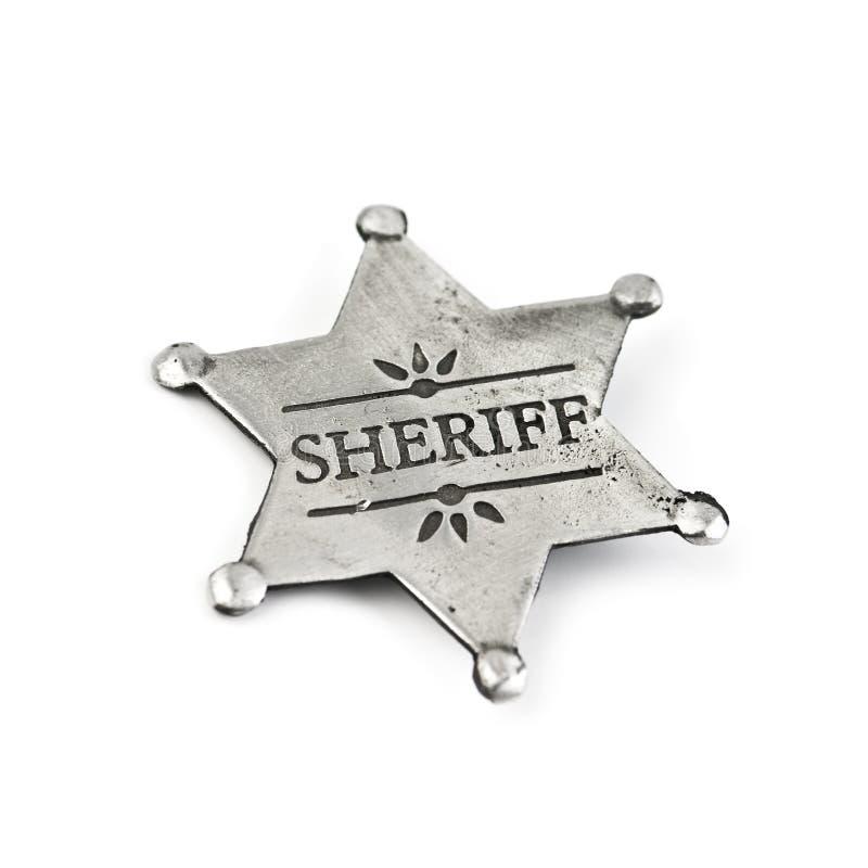 шериф стоковые изображения