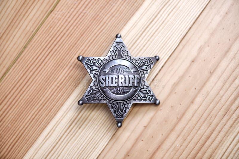 шериф стоковое изображение
