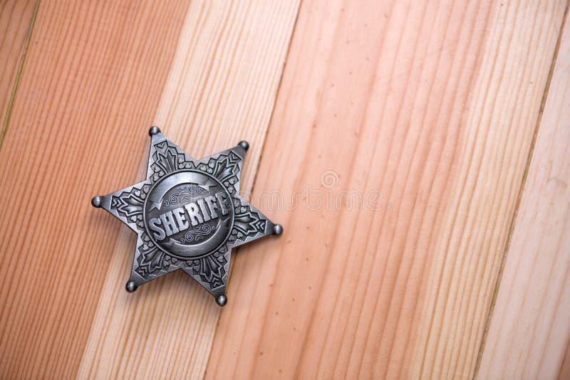 шериф стоковое изображение rf