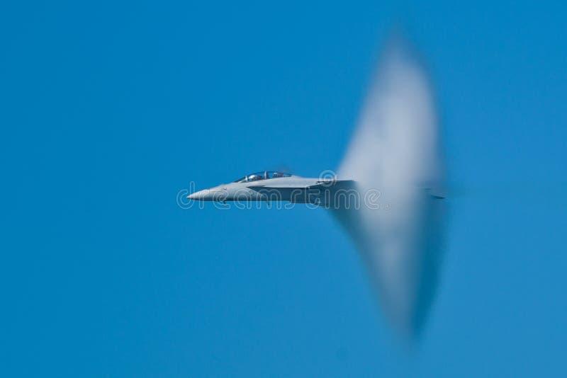 шершень Боинга f воздушных судн 18f супер стоковая фотография