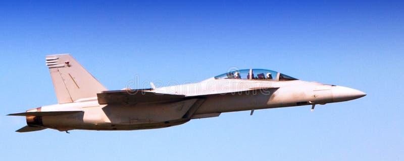 Шершень военно-морского флота F-18 супер стоковое изображение rf