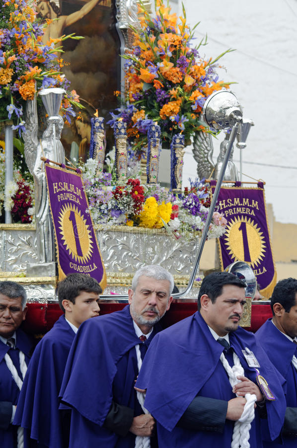 Шествие, Лима, Перу стоковое изображение