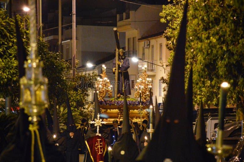 Шествие через улицы стоковая фотография rf