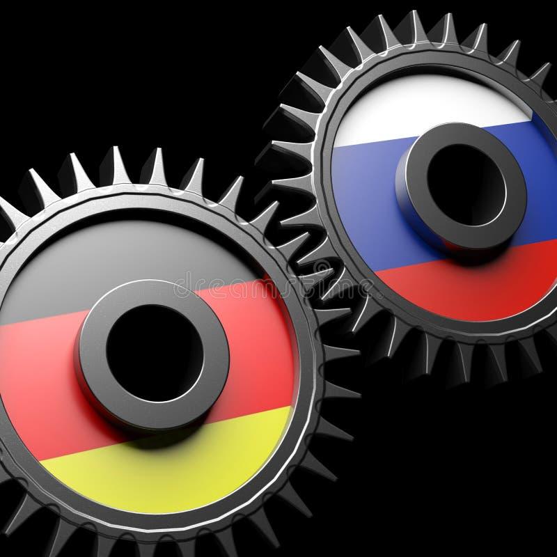 Отношения Германия-России бесплатная иллюстрация