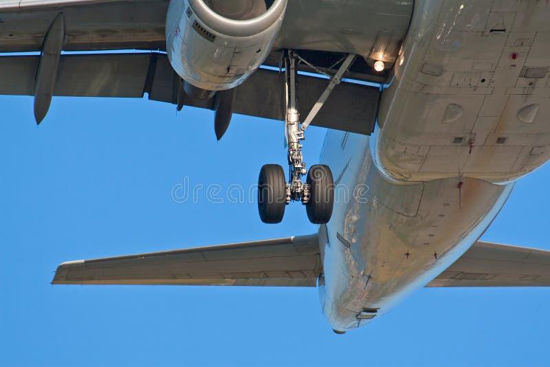 шестерни самолета стоковые изображения