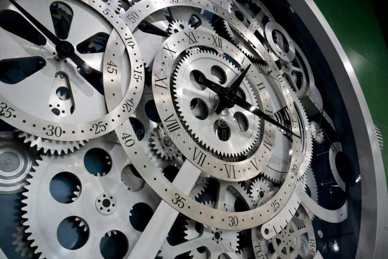 шестерни часов стоковые изображения rf
