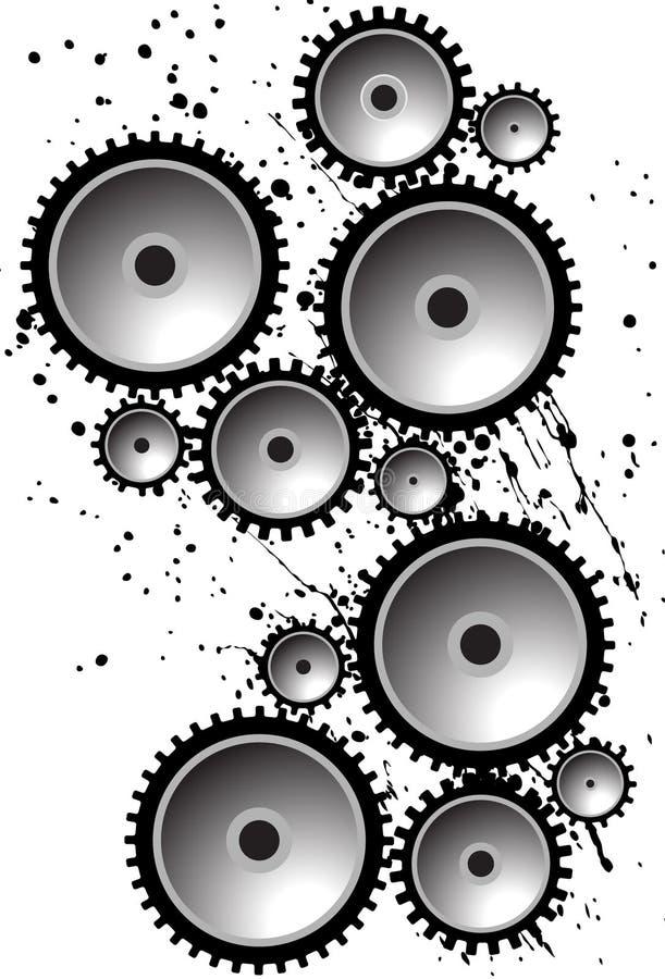 шестерни иллюстрация штока