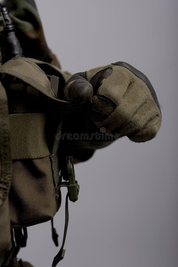 шестерня армии стоковое фото