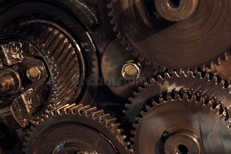 Шестерня двигателя стоковое фото