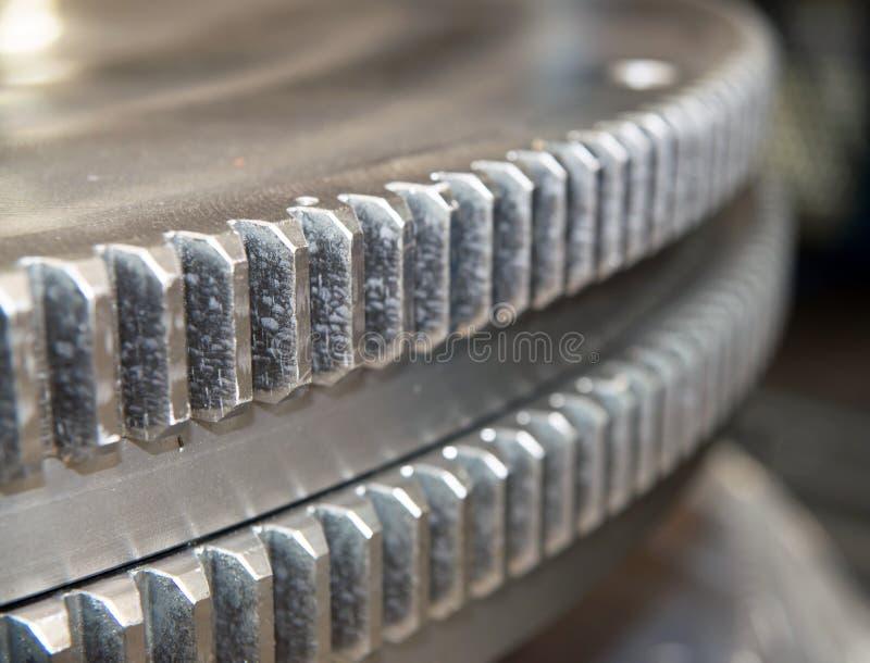 Шестерня металла стоковая фотография