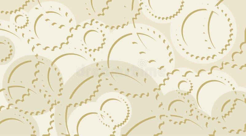 шестерня 03 cogwheels иллюстрация вектора