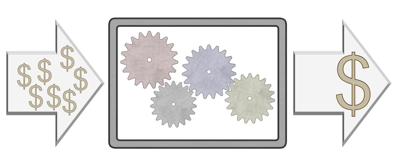 шестерня иллюстрация вектора