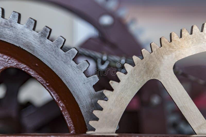 Шестерня Grunge, cog катит предпосылку Промышленная наука, clockwork, технология стоковые изображения rf